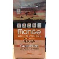 Monge Dog Grain Free Adult Duck