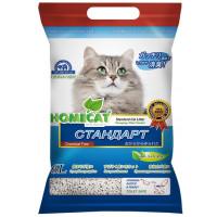 Наполнитель Homecat Стандарт комкующийся  биоразлагаемый без запаха