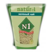 Наполнитель N1 Naturel Зеленый Чай для кошачьего