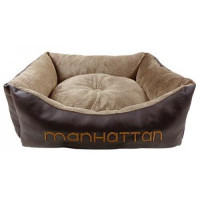 Лежанка для собак Fauna Manhatten мягкая